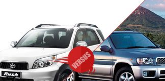 Toyota Rush vs Nissan Terrano