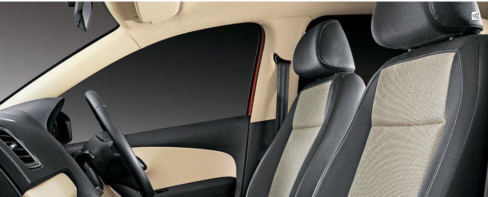 Volkswagen Polo GT TDI Interiors Seats