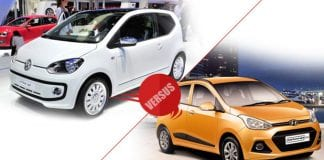 Volkswagen UP vs Hyundai Grand i10
