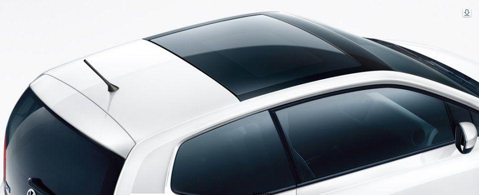 Volkswagen Up Exteriors Top View
