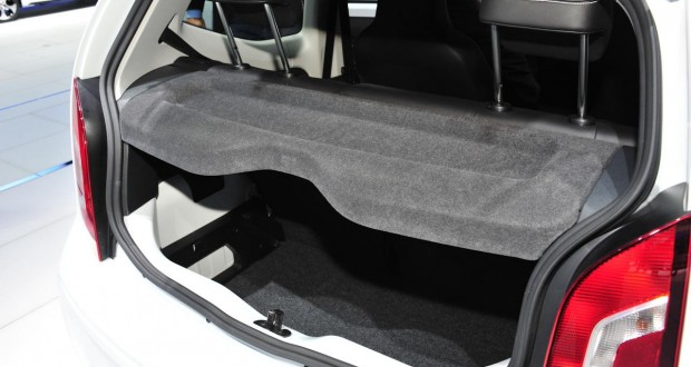 Volkswagen Up Interiors Bootspace