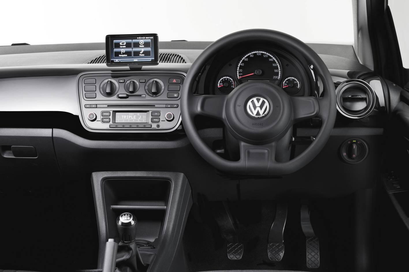 Volkswagen Up Interiors Dashboard