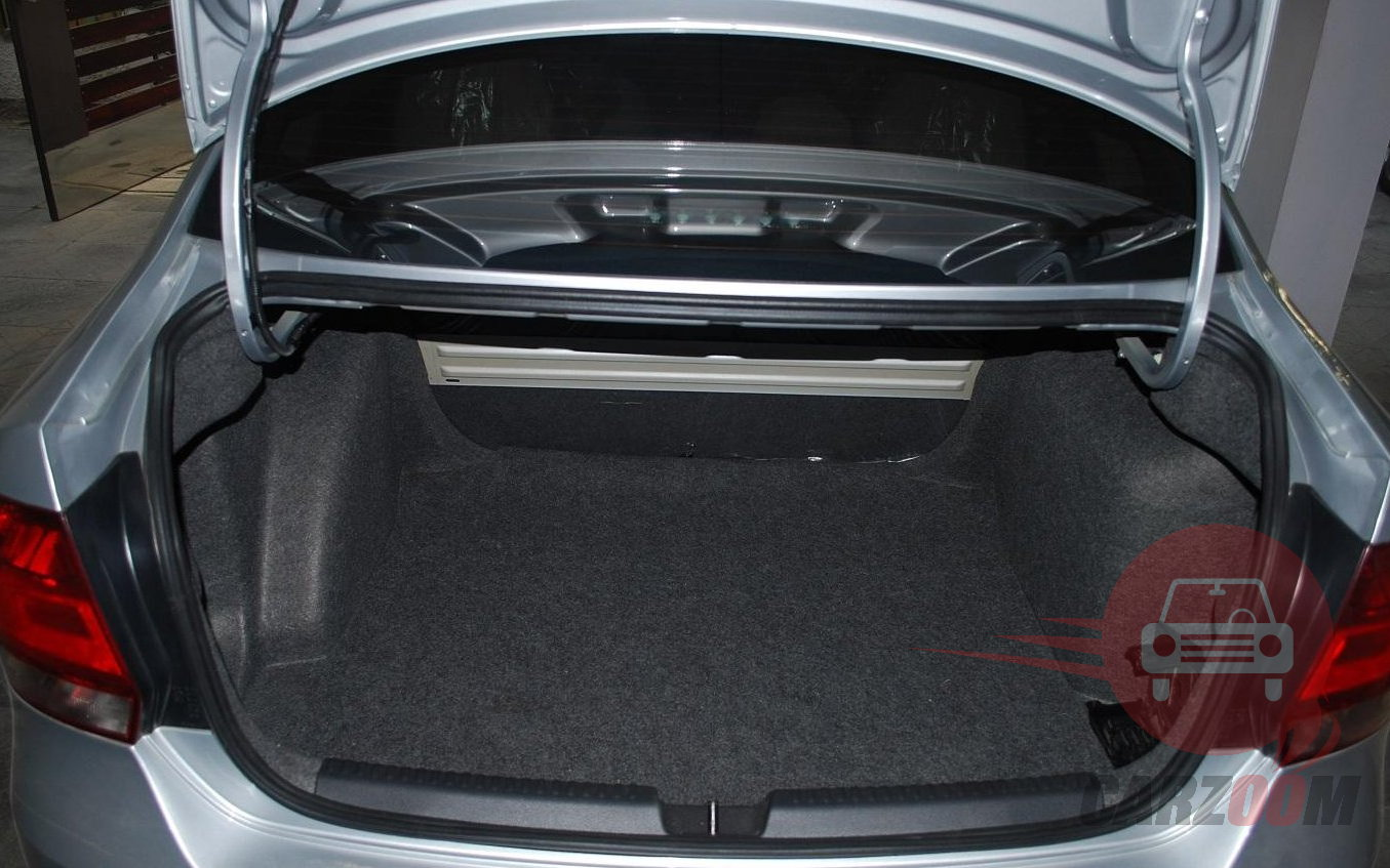Volkswagen Vento Interiors Bootspace