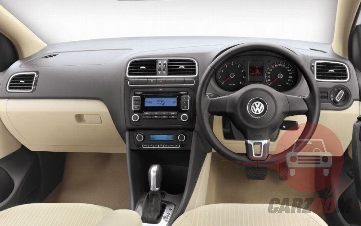 Volkswagen Vento Interiors Dashboard
