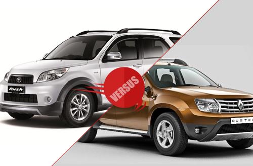 Toyota Rush vs Renault Duster