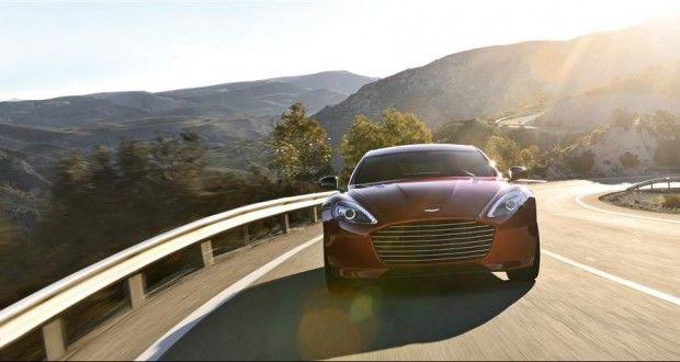 Aston Martin Rapide Exteriors Front View