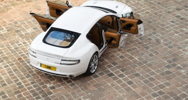 Aston Martin Rapide Exteriors Top View