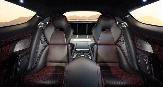 Aston Martin Rapide Interiors Seats