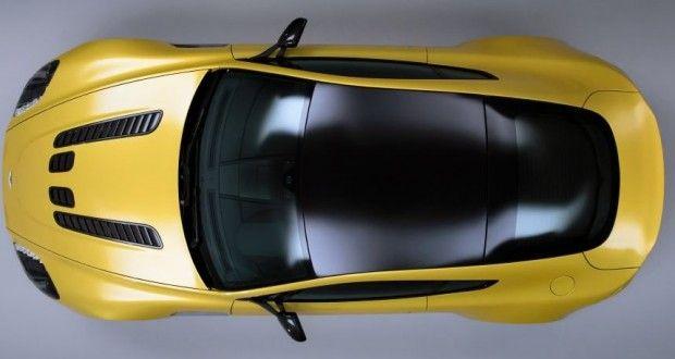 Aston Martin V12 Vantage Exteriors Top View