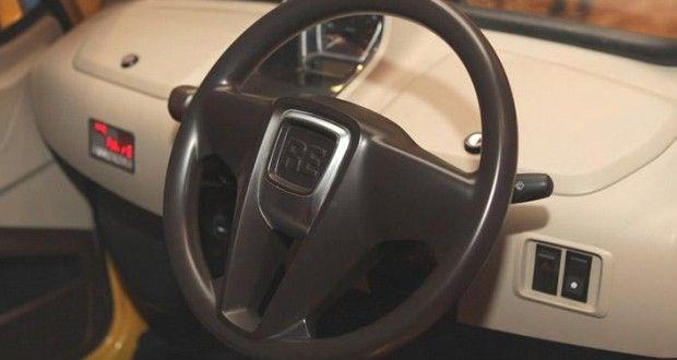 Bajaj RE60 Interiors Dashboard