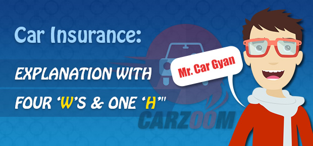 Car Insurance: explanation with four 'W's & one 'H'