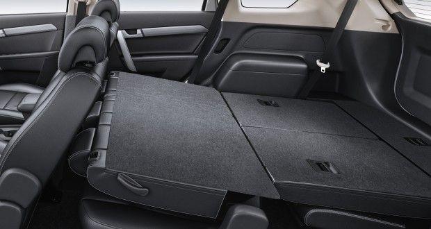Chevrolet Captiva Interiors Bootspace