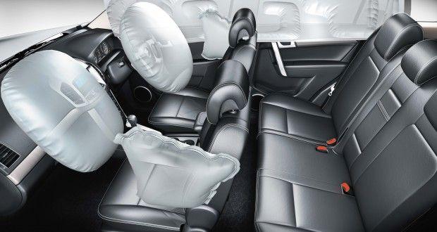 Chevrolet Captiva Interiors Dashboard