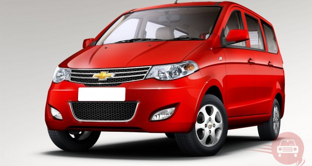 Chevrolet Enjoy Exteriors Front View