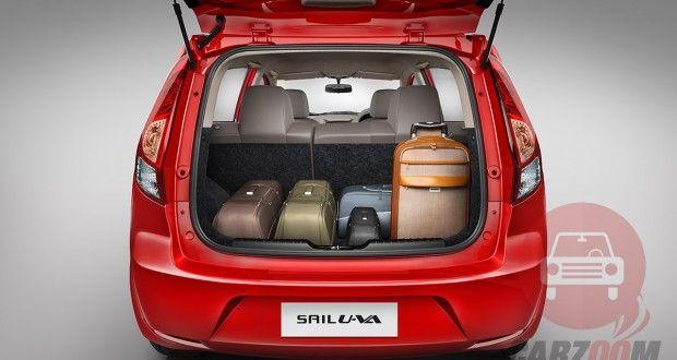 Chevrolet Sail U-VA Interiors Bootspace