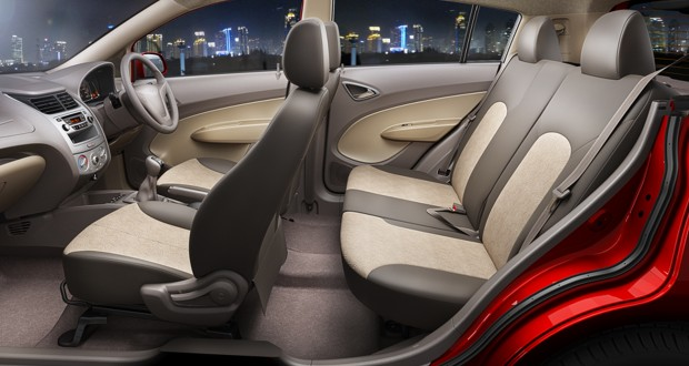 Chevrolet Sail U-VA Interiors Seats