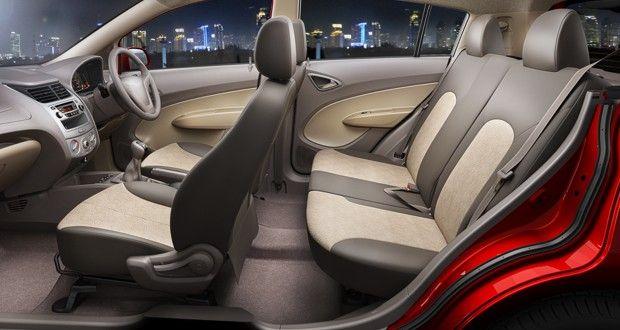 Chevrolet Sail U-VA Interiors Seats