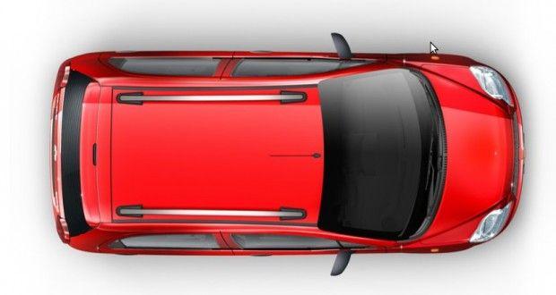 Chevrolet Spark Exteriors Top View