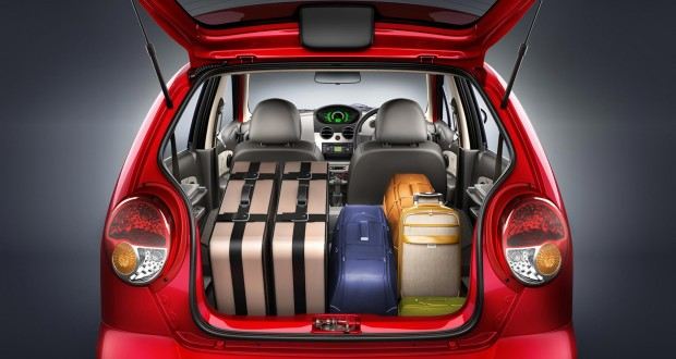 Chevrolet Spark Interiors Bootspace