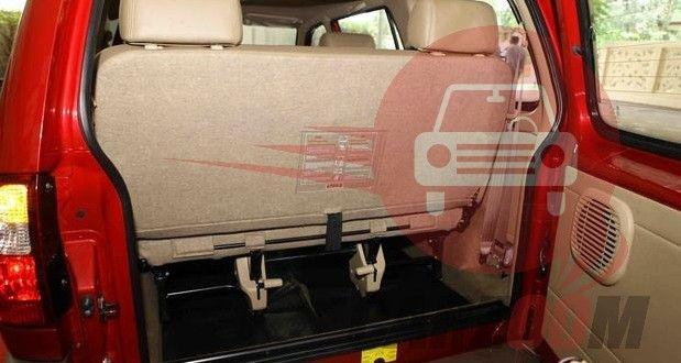 Chevrolet Tavera Interiors Bootspace