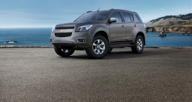 Chevrolet TrailBlazer Exteriors Side View