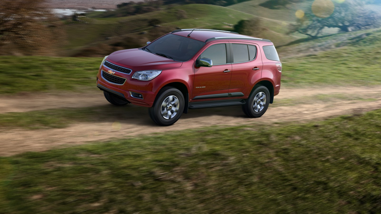 Chevrolet Trailblazer Exteriors Top View