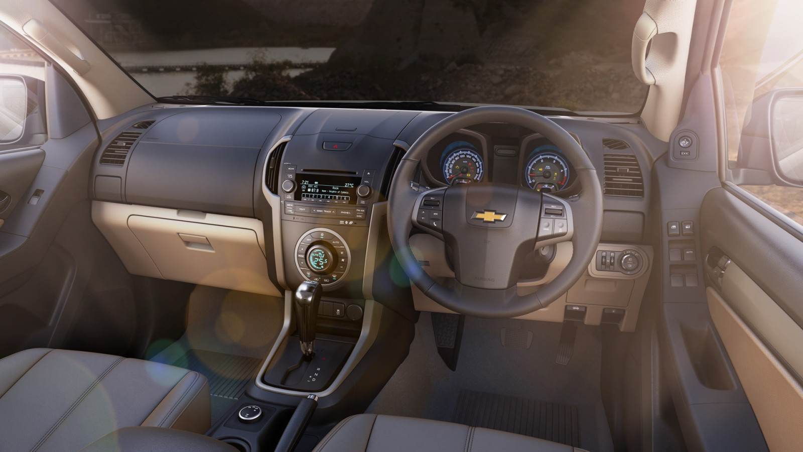Chevrolet Trailblazer Interiors Dashboard