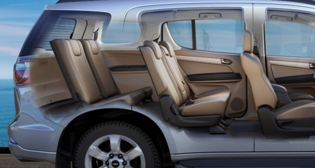 Chevrolet TrailBlazer Interiors Seats