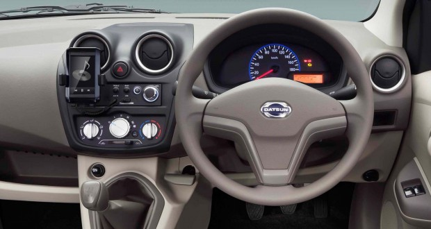 Datsun Go Interiors Dashboard
