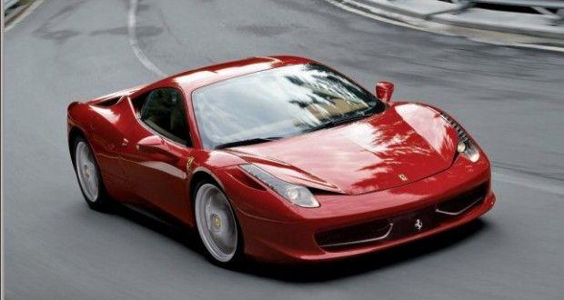 Ferrari 458 Italia Exteriors Top View