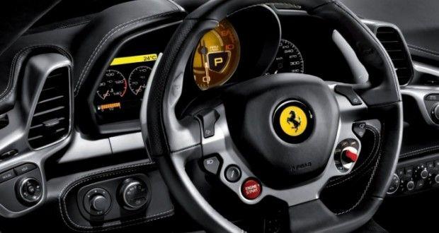 Ferrari 458 Italia Interiors Dashboard
