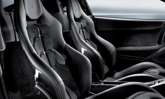 Ferrari 458 Italia Interiors Seats