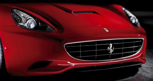 Ferrari California Exteriors Front View