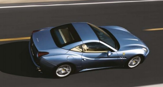 Ferrari California Exteriors Top View