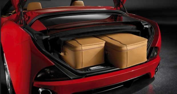 Ferrari California Interiors Bootspace