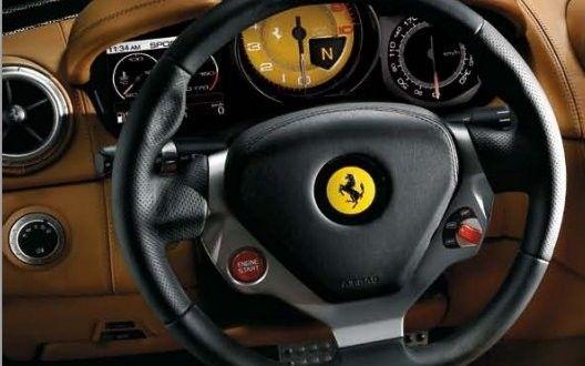 Ferrari California Interiors Dashboard