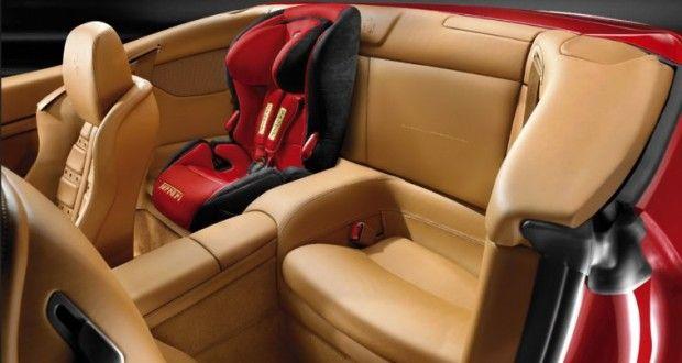Ferrari California Interiors Seats