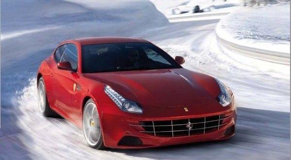 Ferrari FF Exteriors Top View