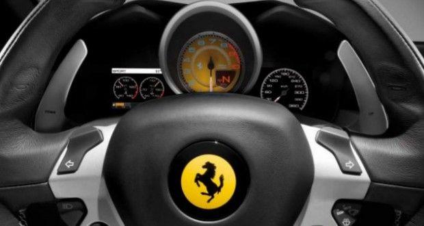 Ferrari FF Interiors Dashboard