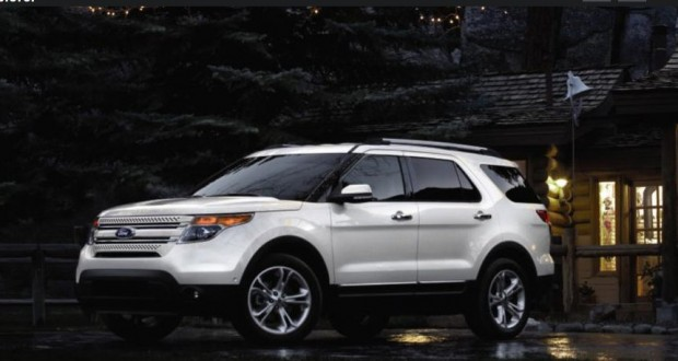Ford New Endeavour Exteriors Side View
