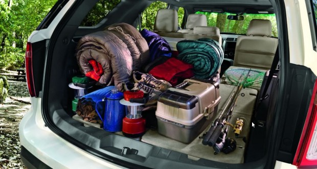 Ford New Endeavour Interiors Bootspace