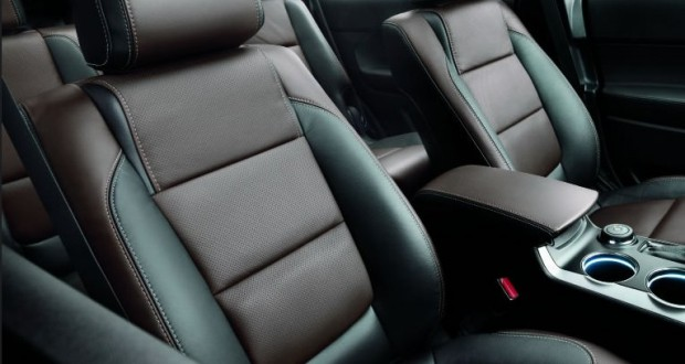 Ford New Endeavour Interiors Seats
