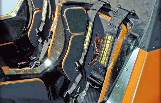 Gumpert Apollo Interiors Seats