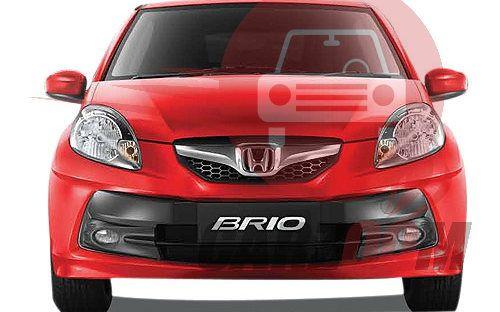 Honda Brio Exteriors Front View