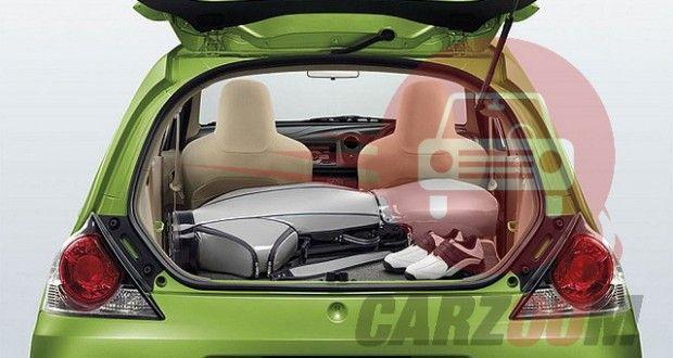 Honda Brio Interiors Bootspace