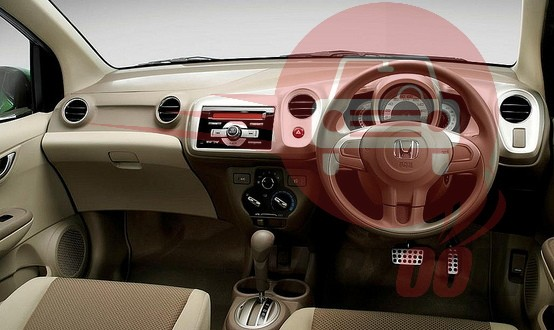 Honda Brio Interiors Dashboard