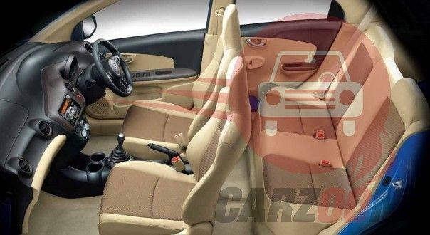 Honda Brio Interiors Seats