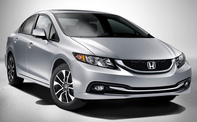 Honda Civic Exteriors Front View