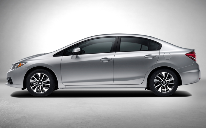 Honda Civic Exteriors Side View