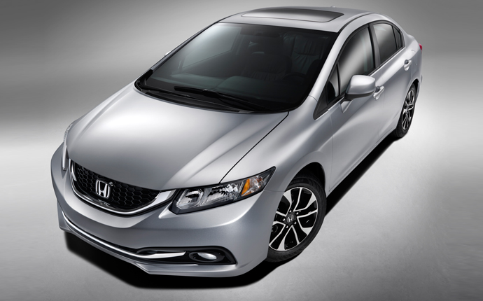 Honda Civic Exteriors Top View